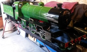 Engine repaint completed